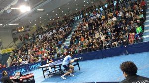 TTC Schwalbe Bergneustadt Tischtennis Bundesliga Premiere in der Schwalbe Arena am Sonntag 7.9.2014