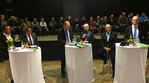Es ist 5 vor 12 in Bergneustadt! Bürgermeister-Kandidaten im Gespräch (Podiumsdiskussion) |  6x HD Videos