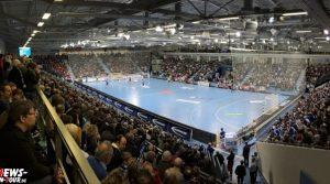 Ausnahmezustand am Wochenende in der SCHWALBE arena in Gummersbach! Über 60 Journalisten sind akkreditiert