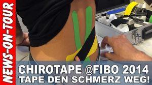 Fibo 2014: ChiroTape | Den Schmerz einfach weg tapen!