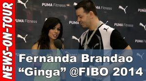 Fibo 2014: Ginga by Fernanda Brandao (Interview) @Puma/Intersport