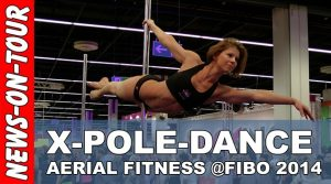 Fibo 2014: X-Pole Dance Performance Show | Aerial Fitness | Cologne