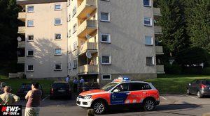 Bergneustadt: Evakuierung! Wohnungsbrand in Hochhaus in der Nistenbergstrasse | TV-Beitrag!