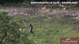 Flugzeugabsturz im Sauerland bei Elpe/Olsberg! Update: Videobeitrag! Pressekonferenz