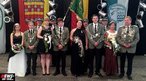 Bergneustadt Schützenfest 2014 (Nachlese) Krönung der Majestäten im Festzelt | Oberbergischer Kreis
