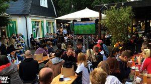 #WM2014 PUBLIC VIEWING GUMMERSBACH: Ghana stark! Deutschland zitterte! Spannung beim 2:2 WM-Remis gegen Ghana | Stadt Terrassen Gummersbach