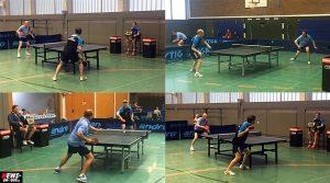 Video! Spitzen Tischtennis: Angriff/Abwehr in SLOW Motion (120FPS) Tischtennis Landesliga 30.08.2014