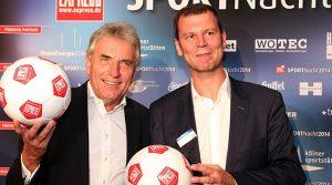 EXPRESS Sportnacht 2014: Rund 900 geladene Gästen feierten in der BusinessLounge Ost im RheinEnergieStadion