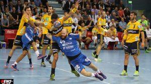 Handball: Löwen Abwehr mit Schwächen! Gummersbach unterliegt 29:24 (17:11) gegen Tabellenführer