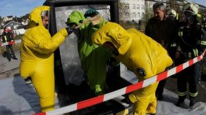 Giftgaswolke! Explosion in Metalsa Halle in Bergneustadt. Personen vermisst. 400 Einsatzkräfte übten den Ernstfall (Mit Video)