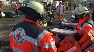 Lage an Weiberfastnacht bezogen auf Sanitätsdienste des Deutschen Roten Kreuz im Oberbergischen Kreis