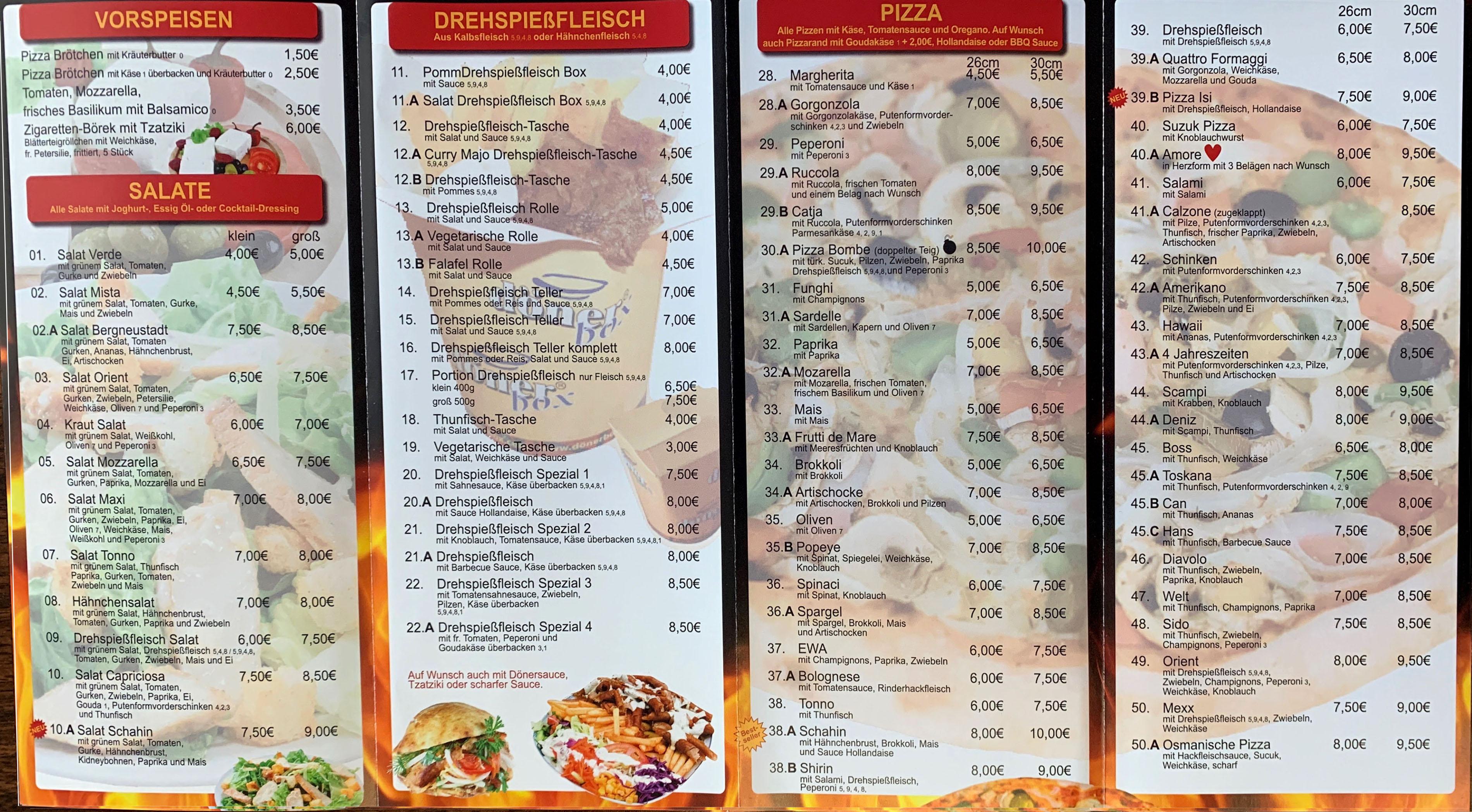 Pizza Max Speisekarte Pdf : orient grill bergneustadt ihr pizza d ner taxi ~ Watch28wear.com Haus und Dekorationen