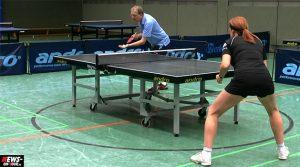 Manfred Nieswand (18-facher Deutscher Meister) gewinnt 24. Fritz-Müller Gedächtnisturnier (Tischtennis Vorgabeturnier) | Mit Video