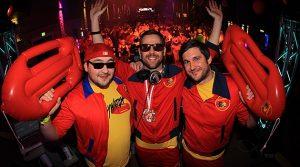 Karneval in Gummersbach 2015! Volles Haus, tolle Stimmung und viele jecke Typen zur Ü-30 Party am Karnevalssamstag @Halle 32