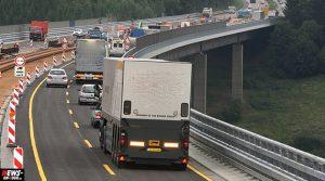 Wiehltalbrücke: LKW rast in Baustelle auf A4! TV-Beitrag (01:27 Min.) Oberbergischer Kreis