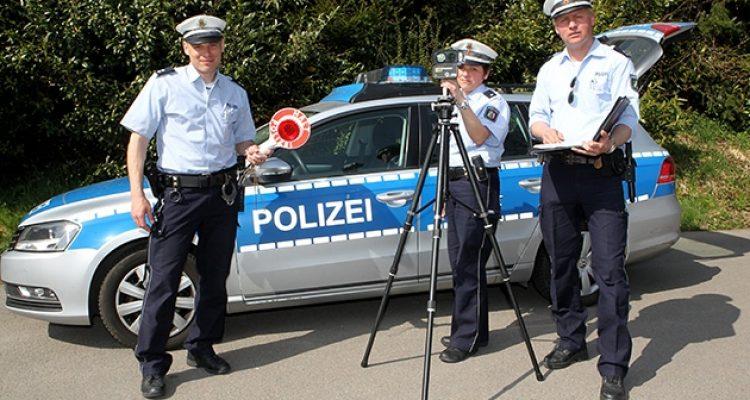Radarfallen: Vorsicht! Hier wird geblitzt ab Mo. 20.04.2015 im Oberbergischen Kreis | Radarkontrollen der Polizei KW 17/2015