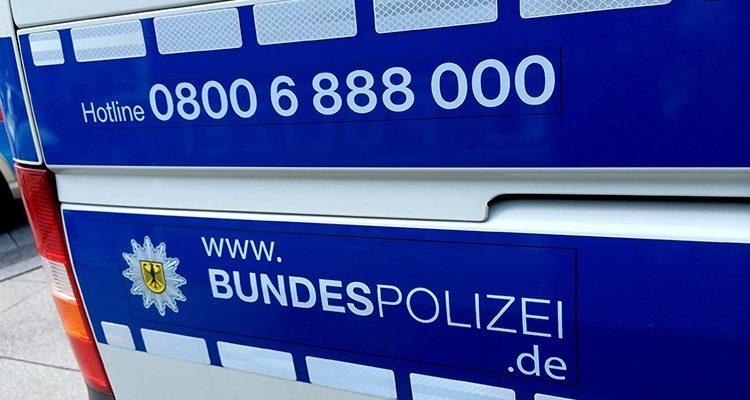 4,02 Promille! Bundespolizei nimmt Mann in Gewahrsam