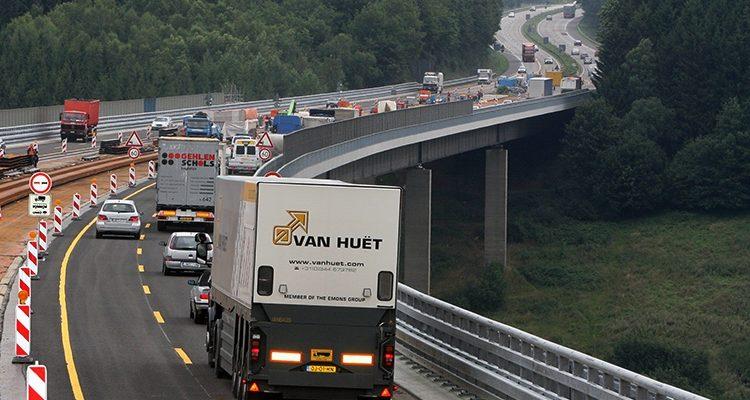 Tempolimit auf Autobahnen bis 80 km/h wegen Sommerhitze!