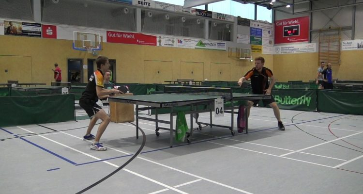 38. Bomiger Tischtennis Turnier! Herren A: Daniel Held (Sieger) | Herr/Weinert (Doppelsieger) | 2x HD-Videos Finale