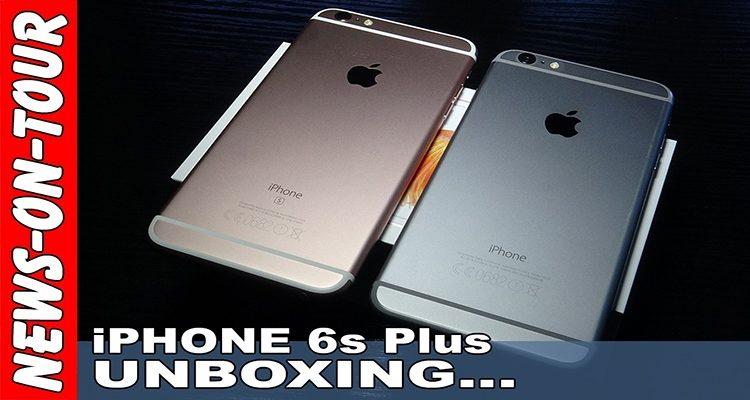 Apple iPhone 6s Plus Rosegold UNBOXING | Ist es wirklich pink? Männertauglich?