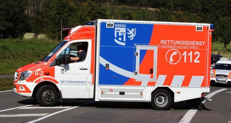 Zwei getrennte Rennradunfälle endeten am Sonntag im Krankenhaus ( Wipperfürth / Lindlar )