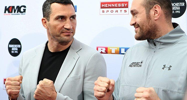 Boxen: Klitschko/Fury WM-Kampf erneut abgesagt! Fury sagt aus medizinischen Gründen ab   Tyson Fury vs Wladimir Klitschko