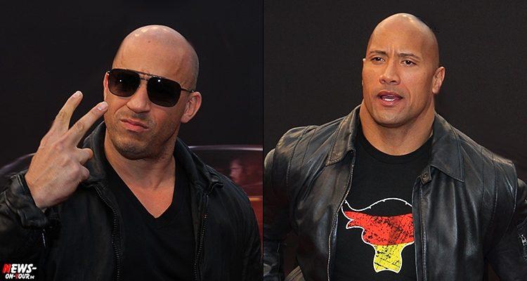 THE ROCK ist sauer auf Vin Diesel! Ärger am Filmset von Fast & Furious 8. Aber was ist da los?