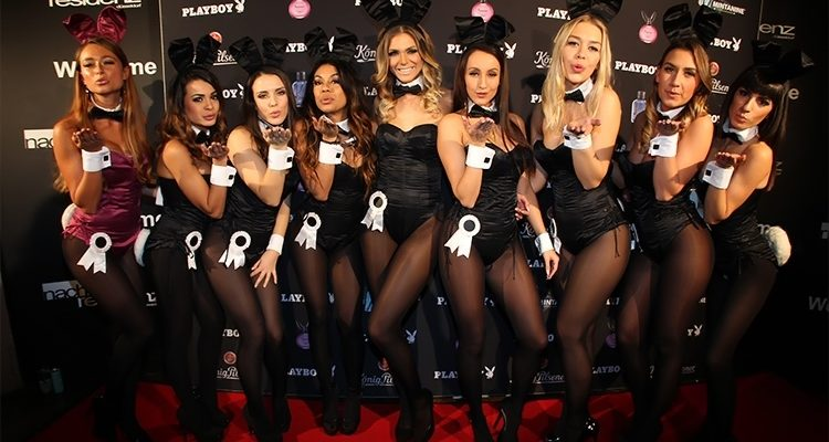 Playboy Club Tour 2016/2017 gastierte in der Nachtresidenz! Neun echte Playboy Bunnys feierten mit den Gästen in der Nachtresidenz in Düsseldorf