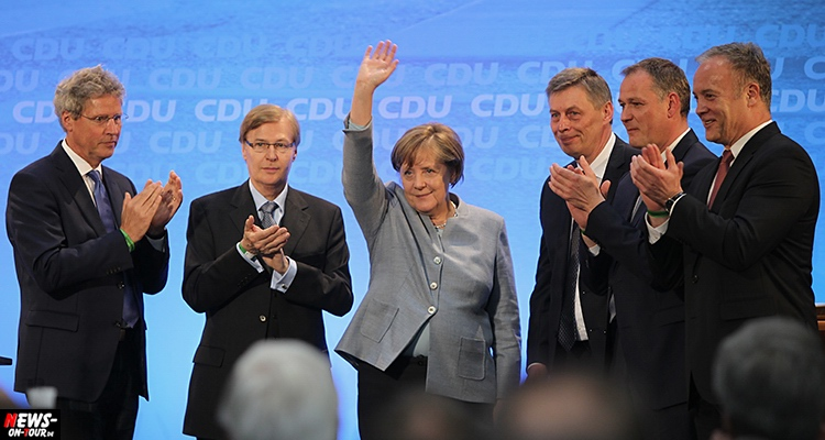 Merkel Besuch Waldbröl – Bundeskanzlerin Angela Merkel begeistert 1.000 Zuhörer in der Nutscheidhalle | Oberbergischer Kreis (NRW)