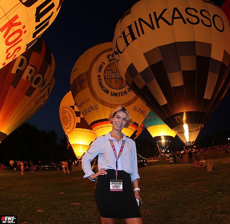 Kurpark08: Nümbrecht: BALLONGLÜHEN! 11 Ballone Glühten Zum