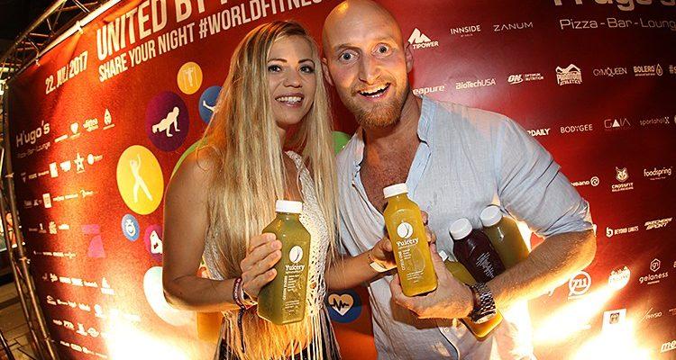 Frankfurt: Aftershow mit YouTube Fitness Millionär KARL ESS u.v.a. Stars beim World fitness day | H'ugo's (Frankfurt am Main) | Sa. 22.07.2017