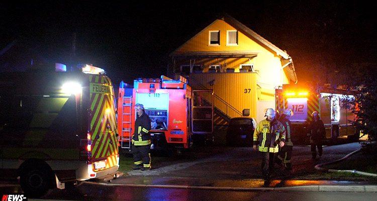 Engelskirchen: Wohnungsbrand im Kinderzimmer! Haus zzt. nicht bewohnbar   Mit Video!   Oberbergischer Kreis (NRW)