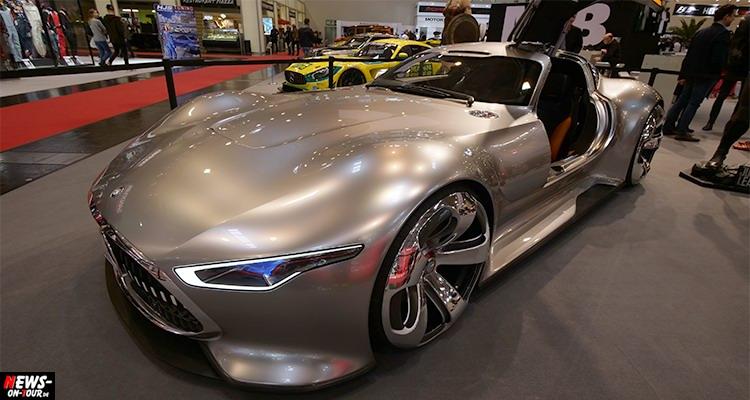 #EMS2017 – Bruce Wayne (Batman) fährt einen 585 PS Mercedes | #EssenMotorShow2017 | DIE BILDER mit dem Stern! #WirSindEMS #essenmotorshow