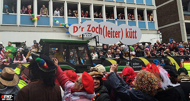 Köln: Update #3 – Unfall am Rosenmontagszug! Pferde gehen durch.  Mindestens vier verletzte Personen