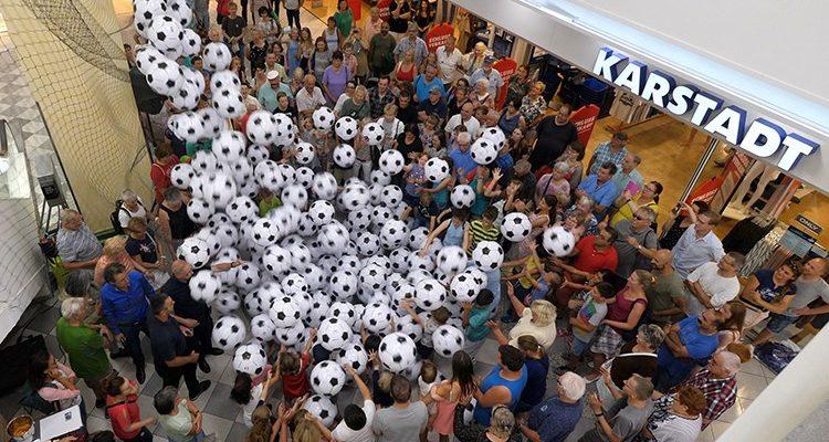 Tausende Euro verzockt! Verrückte WM-Aktion @EKZ Bergischer Hof GM! Balla Balla Gewinnaktion #Gummersbach