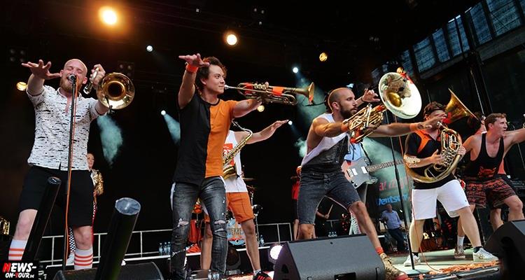 Lindenplatz Open Air 2018 | 4.500 Zuschauer feierten die Kölsch-Rock-Bands Kasalla, Querbeat und The Höösch bei erstklassigem Open-Air Wetter in Gummersbach