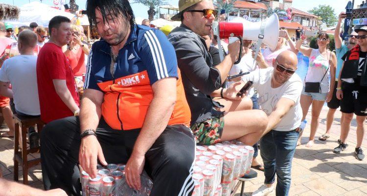 Bierdosen Pyramide stapeln Weltrekord Versuch #3 (2019) Hat es diesmal geklappt? #Goldstrand #Bulgarien #Megapark