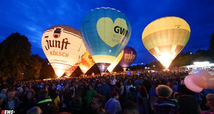 Nümbrechter Lichterfest! Tausende bestaunten das Ballonglühen im Kurpark | Mit Video