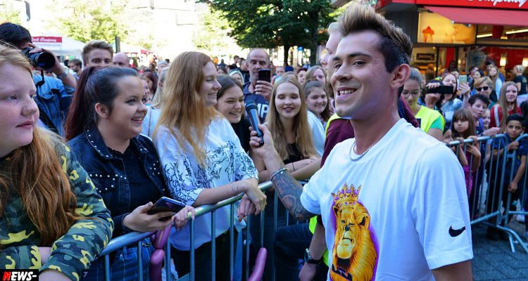Gummersbach: DSDS Sänger Daniele Negroni der Star beim Weltkindertag 2019! Buntes Treiben in der gesamten Innenstadt