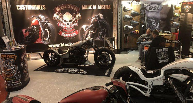Custom Bike Show! Weltgrößte Messe für umgebaute Motorräder (Bad Salzuflen)