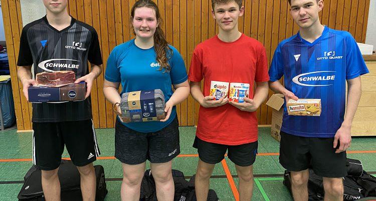 Bergneustadt: Jugendliche rockten das 29. Fritz Müller Gedächtnis Tischtennis-Vorgabeturnier! Manuel Braun (14) Sieger im Erwachsenturnier