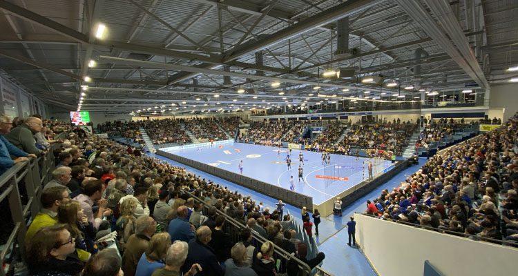 VfL Gummersbach plant mit Vollauslastung der SCHWALBE arena bei Bundesliga-Heimspielen! Vorverkauf von Tagestickets für den ersten Spieltag gestartet
