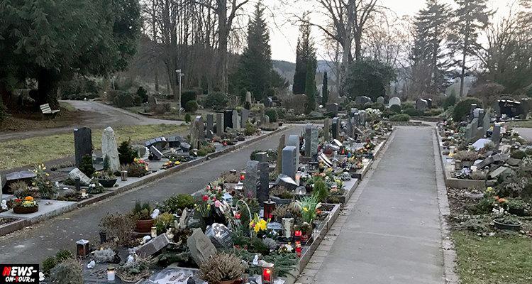 Gummersbach: Grabschmuck und Laternen auf Friedhof beschädigt! Rastalocken Mann unter Verdacht