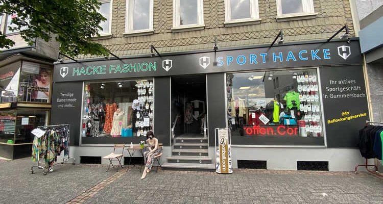 Gummersbach: Click&Meet bei Sport Hacke & Hacke Fashion ab Montag 08.03.2021
