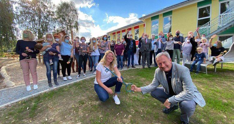 Haus der Kinder Henneweide: Einer der schönsten Kindergärten im Regierungsbezirk Köln eröffnet