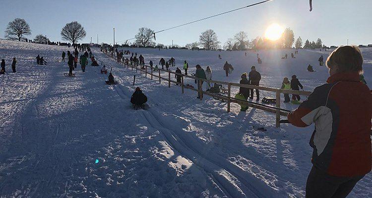 Sperrung Skigebiet Fahlenscheid! Betretungsverbot für die Skipisten