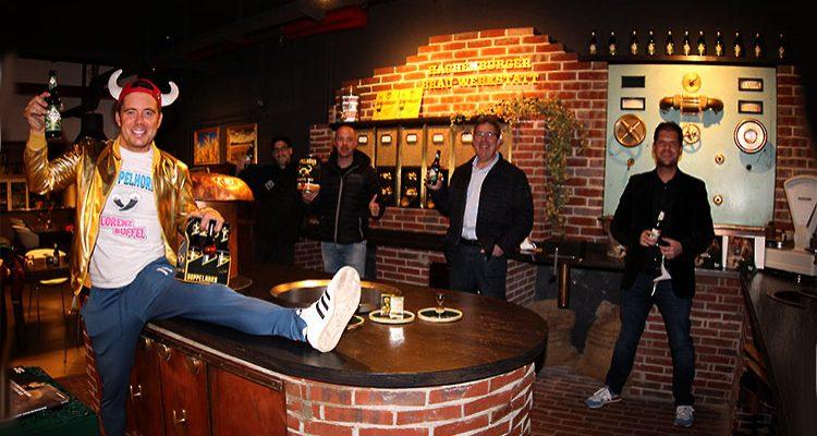 Hachenburg: Bierschule@home in der Westerwald-Brauerei! Virtuelles Biertasting mit Lorenz Büffel. Dem Vater des Doppelhorn Bier