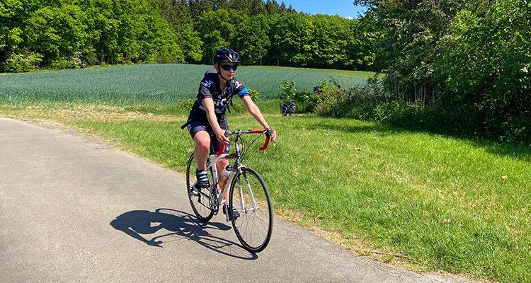 Radfahrende im Blick! sicher.mobil.leben