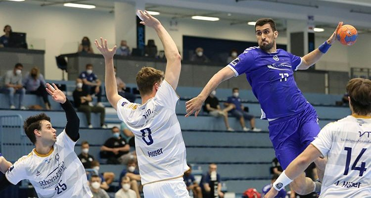VfL Gummersbach setzt sich souverän im Lokalderby gegen TSV Bayer Dormagen durch