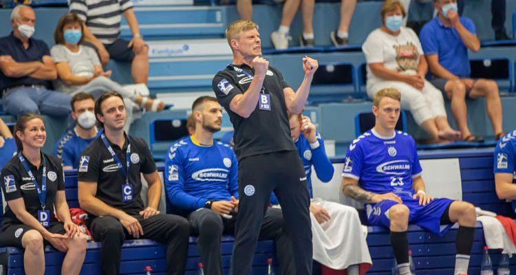 VfL Gummersbach siegt dynamisch vor Publikum gegen HC Elbflorenz in der SCHWALBE arena